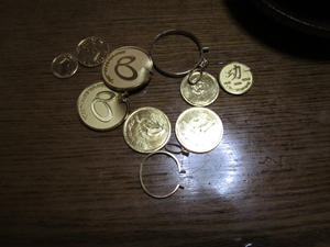 オリジナル金貨・金メダル