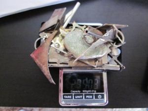 工房から出た銀製品